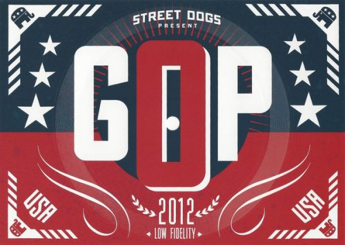 "Street Dogs - ""GOP"" postcard flexi"