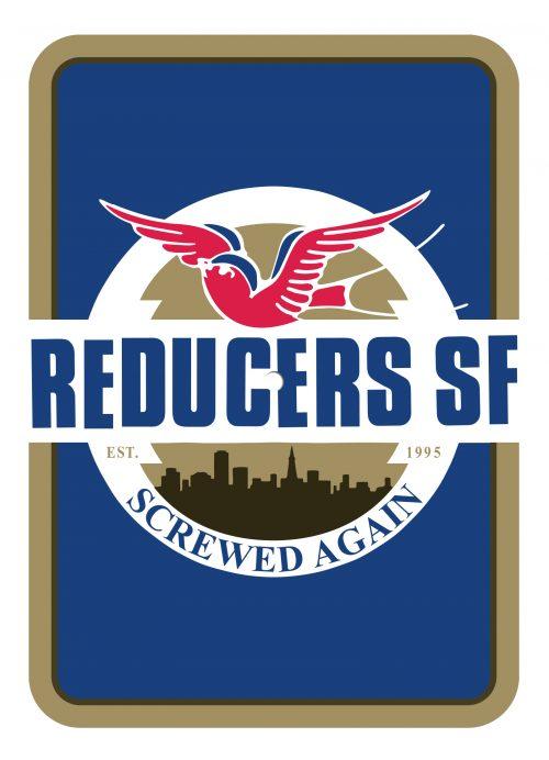 "Reducers SF - ""Screwed Again"" postcard flexi"