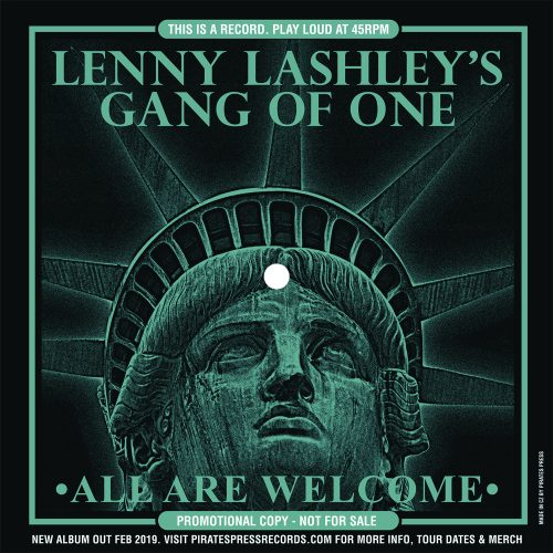 "Lenny Lashley's Gang of One - ""All Are Welcome"""