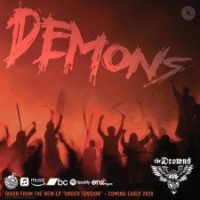 PPR250F-The Drowns-Demons-Promo-Flexi