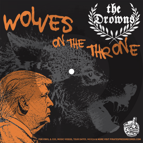 PPR250F3-The-Drowns-Wolves-On-the-Throne-Promo-Flexi