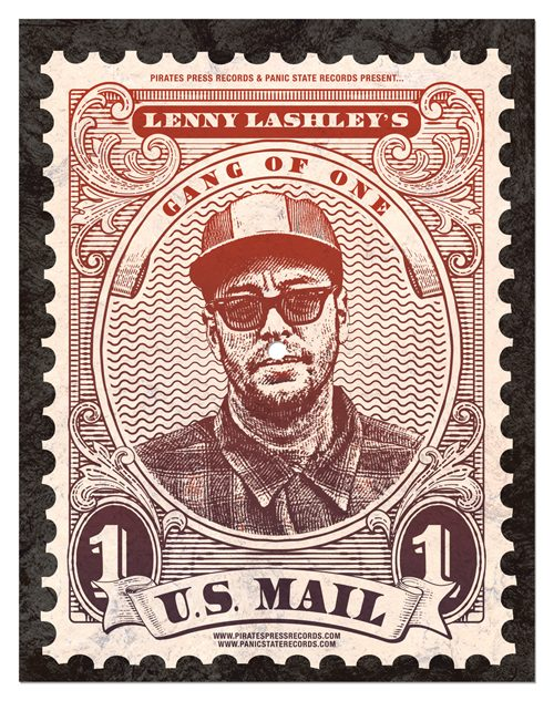 "Lenny Lashley's Gang Of One - ""U.S. Mail"""