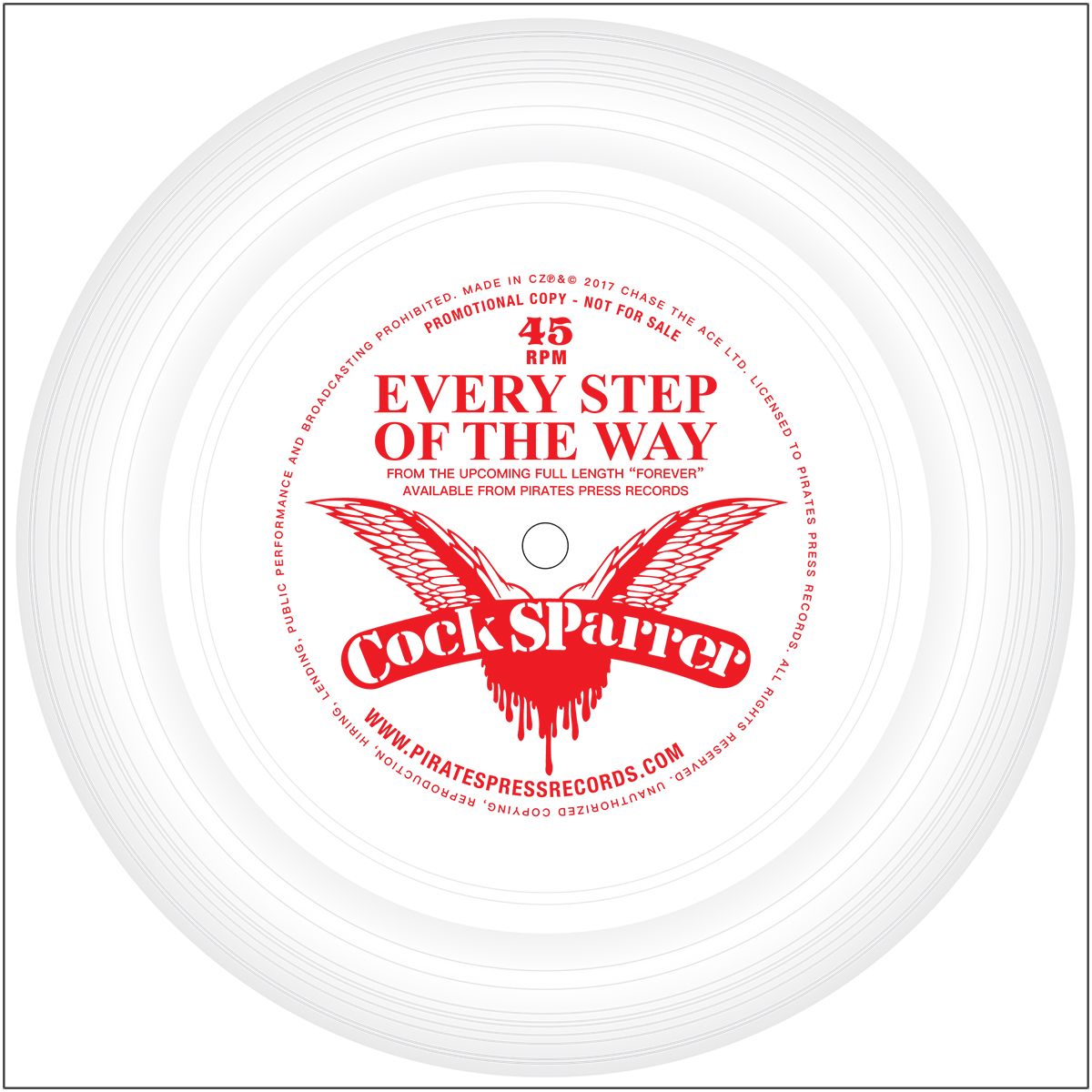 """Cock Sparrer - """"Every Step Of The Way"""""""
