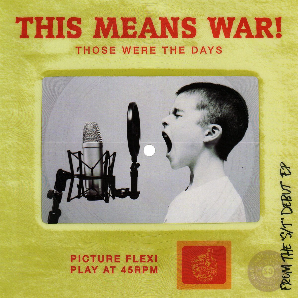 """This Means War! - """"Those Were"""