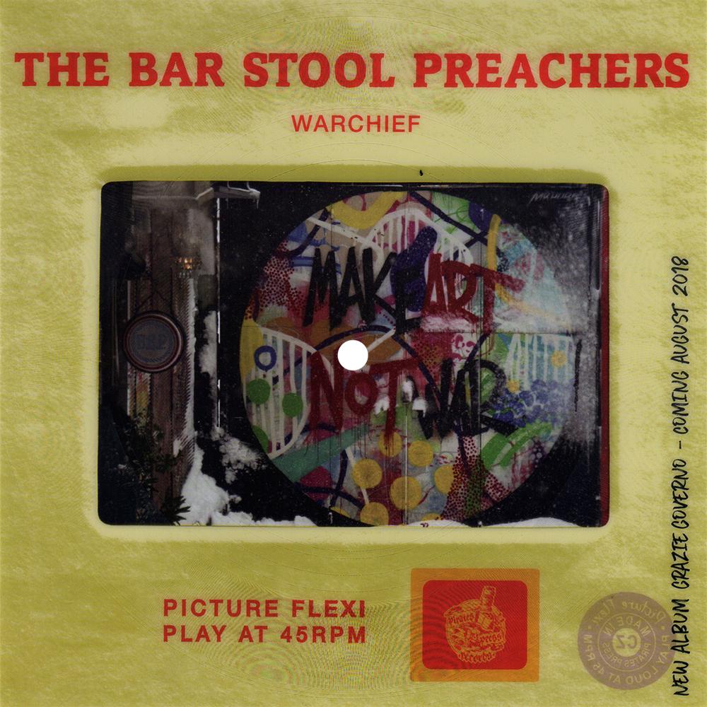 "The Bar Stool Preachers - ""Warchief"" (Picture Slide Flexi)"