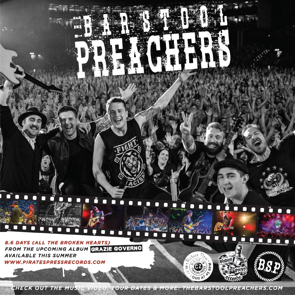 "The Bar Stool Preachers - ""8.6 Days (All The Broken Hearts)"""