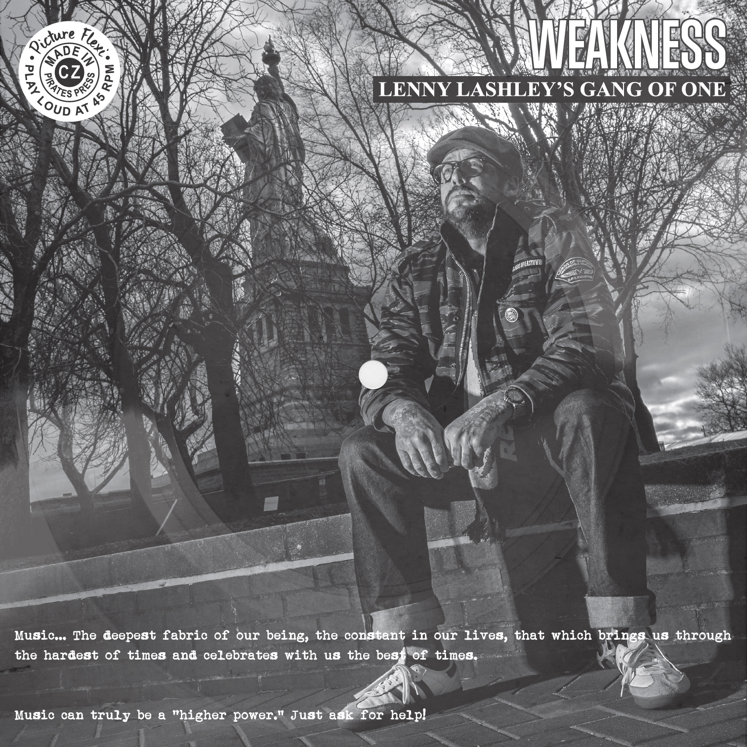 """Lenny Lashley's Gang of One - """"Weakness"""" NA/AA Charity Promo Version"""