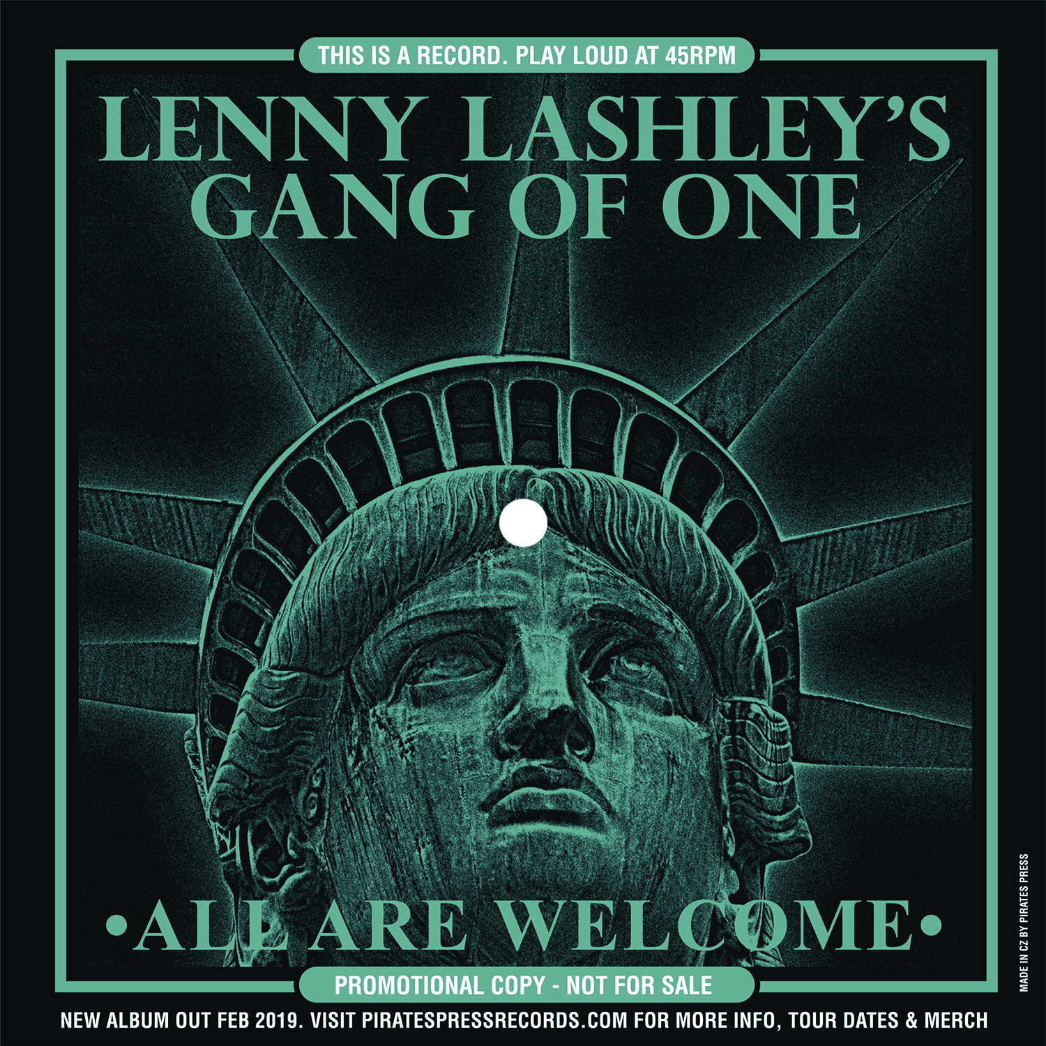 """Lenny Lashley's Gang of One - """"All Are Welcome"""""""